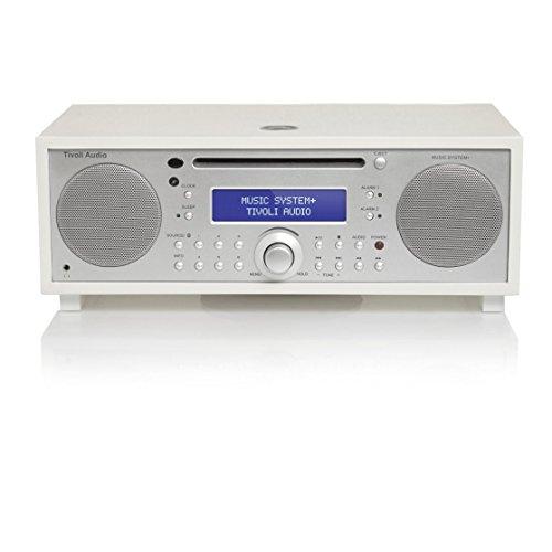Tivoli Audio Music System+ All-in-One Hi-Fi-System mit DAB+, CD und Bluetooth weiß (Cd-radio-tivoli)