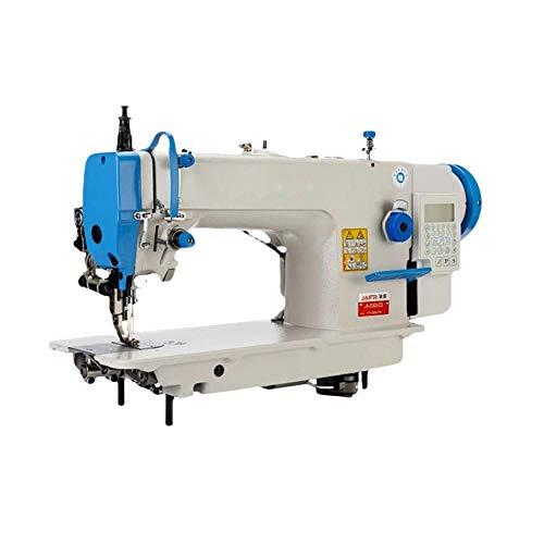 Computer Nähmaschine Elektrische Industrienähmaschine Profi Overlockmaschine mit Stickfunktion und Overlock
