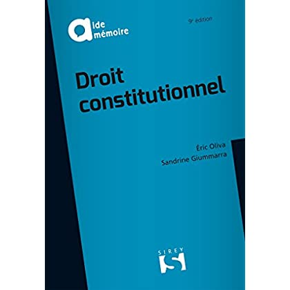 Droit constitutionnel - 9e éd.