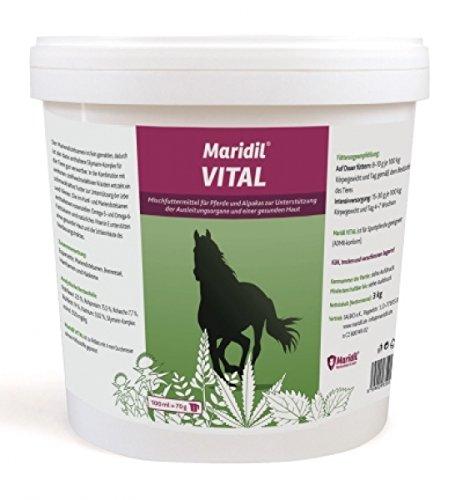 Maridil VITAL 7 kg für die Leber, Niere und Haut
