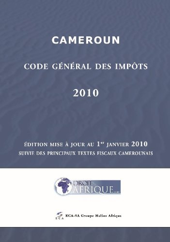 Cameroun, Code General des Impots 2010