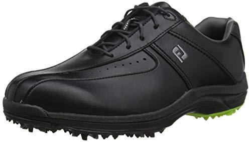 Footjoy GreenJoys, Scarpe da Golf Uomo, Nero (Negro 45301), 44 EU