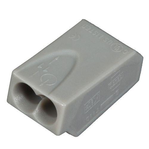 ViD 1002251 Verbindungsklemmen/Steckklemmen grau 1,0 - 2,5 mm² 100 Stück