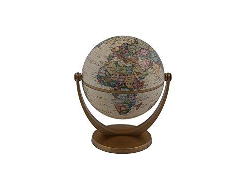 10 cm Dreh-Schwenk Globus: Antik-Design-Kartographie