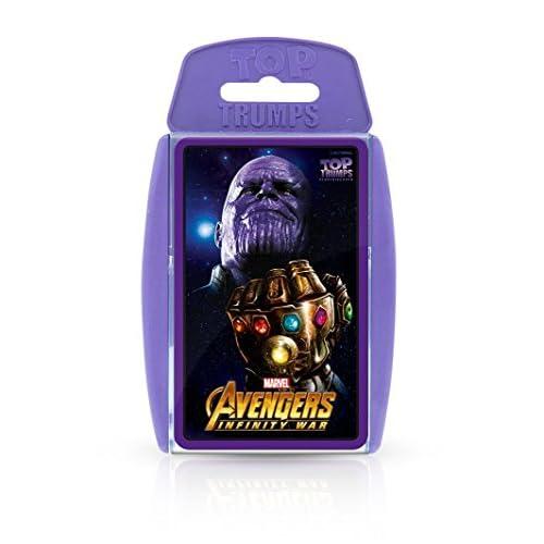 Top Trumps Juego de Cartas de los Vengadores de Marvel Infinity War 3