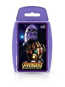 Top Trumps Juego de Cartas de los Vengadores de Marvel Infinity War