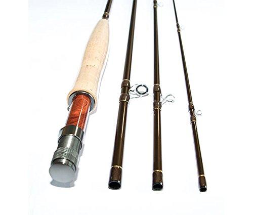 Caña de pescar con carnada de mosca, para aguas tranquilas (274 cm, 15,24 cm)