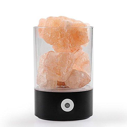 1x Himalayan Rose Sel Cristal de Roche Lampe Natural Healing ionisant Lampes