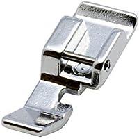 Alfa Prensatelas para cremalleras, accesorio para máquina de coser, acero inoxidable
