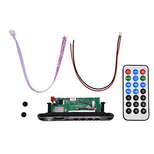 Bluetooth MP3 WMA Decoder Board 12 V Wirelss Audio Modul Unterstützung USB SD FM Freisprecheinrichtung Anruf Decoder-modul