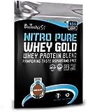 Nitro Pure Whey Biotech USA 454g Beutel Caramel Cappuccino
