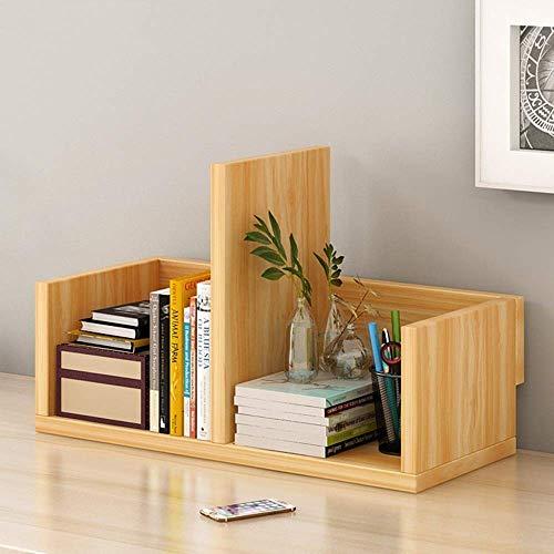 JHUEN Bodenständiges Einfaches Bücherregal Einfache Tischkombination Bücherschrank Einfache Moderne Tisch Kreativregal A ++ (Farbe: B) -