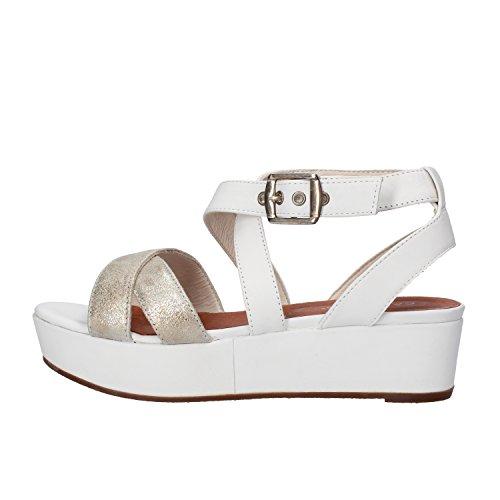 CARMENS sandali donna bianco platino pelle AF654 (36 EU)