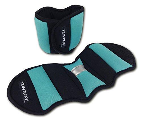 Tunturi Gewichtsmanschetten Paar Nylon 2 x 0.75 kg Laufgewichte Fußgewichte