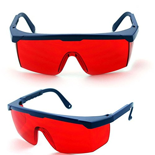 Elvy 1Pcs Protection Goggles Laser Safety Glasses Green Bluee Red Eye Spectacles Protective Eyewear Green Color Laser Protection