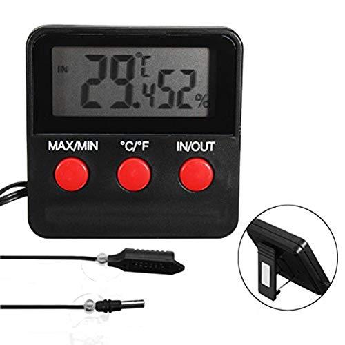 DyNamic Termometro Digitale Igrometro Sonda Misuratore Di Umidità Per Incubatrice Di Uova Pet