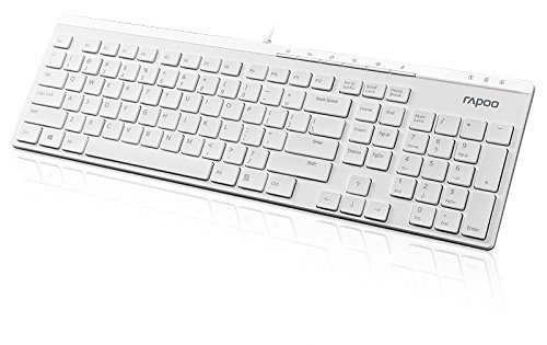 rapoo-n7000-wired-slim-tastatur-deutsches-layout-usb-multimedia-tasten-anti-oxidations-membran-weiss