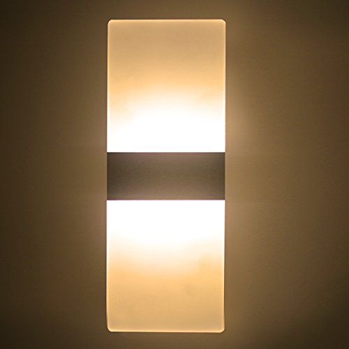 modern wall sconce lighting. LED Wall Light 6W Warm White Modern Acrylic Lamp Sconce Lights Night Perfect For Living Room Bedroom Corridor Stairs Bathroom Indoor Lighting T
