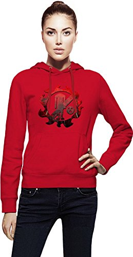 New Fishman Pirates Logo Capuche Femme Small