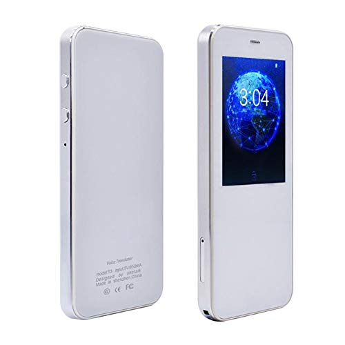 Smileyshy HC-T3 HD Mini Mikrofon 49 Sprache Touchscreen Tragbarer intelligenter Sprachübersetzer