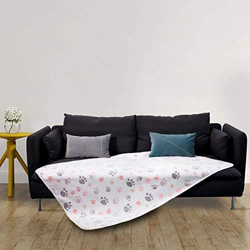Allisandro® Super Softe Warme und Weiche Decke für Haustier Hundedecke Katzendecke Fleece-Decke/Tier Schlafdeck Überwurf für Hundebett Sofa und Couch- Gr. 150x100cm , Beige