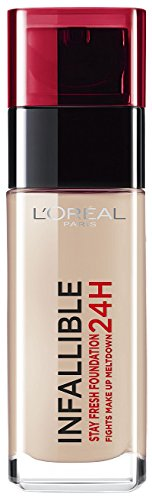 L'Oreal Paris Infallible 24H Foundation, 125 Natural Rose, 30 ml