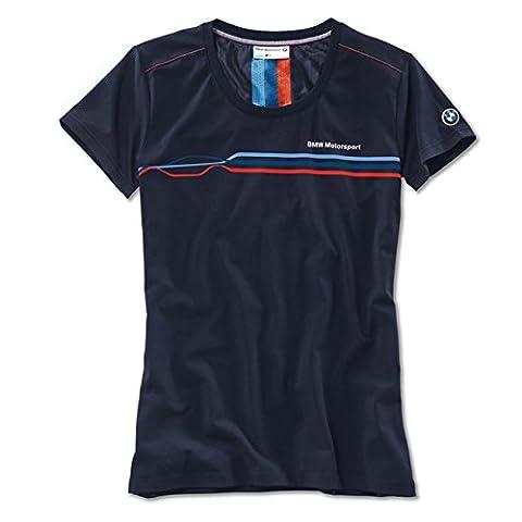 Authentique BMW Motorsport T-shirt femme 80142285805(Taille S)