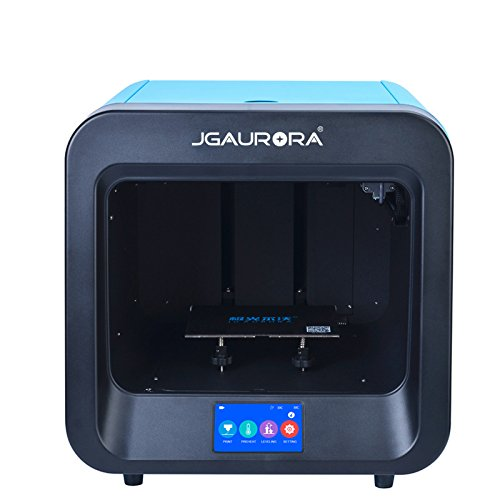 JGAURORA 3D-Drucker A4 Einzelner Extruder Drucker PLA / TPU Gedruckt (Blau) -