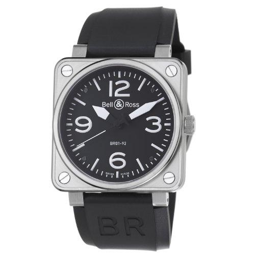 Bell & Ross BR01-92STEEL - Reloj para hombres
