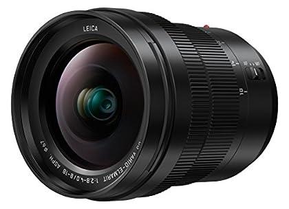Panasonic Lumix G H-E08018E - Objetivo (Micro Cuatro Tercios, Leica DG Vario-Elmarit, 8-18 mm, F2.8-4.0 ASPH) Negro