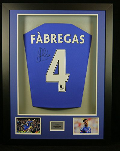 Cesc-Fabregs-Chelsea-Signed-Shirt-3D-Framed-Display-with-COA