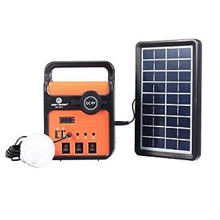 Tutoy Groupe Électrogène De Puissance De L'Énergie Solaire De W avec des Ampoules De Panneau Solaire avec Le Port D'Usb De Chaussette