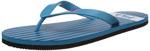 Fila Men's Batone Blue and Black Flip Flops Thong Sandals -8 UK/India(42 EU)(9 US)  available at amazon for Rs.174