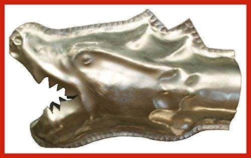 Wasserspeier Drachenkopf Titanzink in den Größen 30, 42 und 65 mm (A)