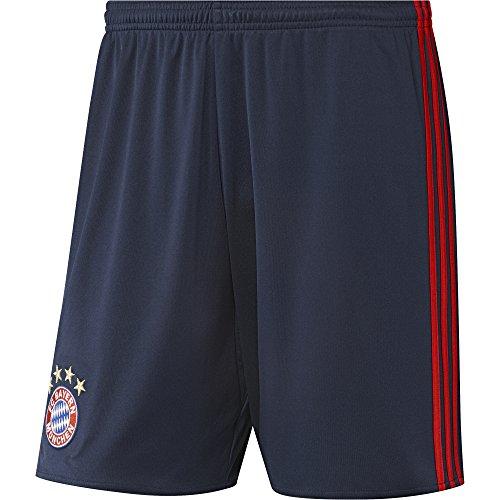 adidas Herren Torwart/Heim FC Bayern München Replica Shorts, Night Indigo/Red, M