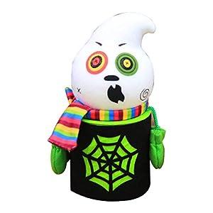 Wafalano Halloween Cobweb Candy Snack Aufbewahrungsboxen, Halloween Cobweb Candy Snack Taschen Cookie Food Aufbewahrungsboxen Zombie Ghost Kürbis Black Cat Style Party Einzigartige Geschenkboxen