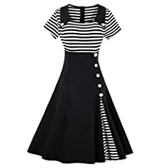 79809ca250 Women s Dress 40s 50s Swing Style Vintage Rockabilly Ladies Retro ...