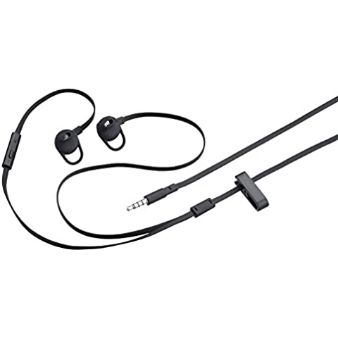 BlackBerry BT-ACC52931001 - Auriculares in-ear estéreo, color negro