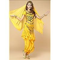 37111e63292f Amazon.co.uk  Yellow - Leotards   Women  Sports   Outdoors