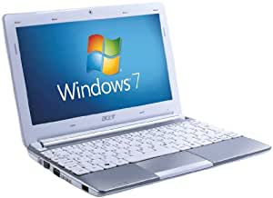 Acer Aspire One D257 10.1 inch Netbook (Intel Atom N455 Processor, 1GB RAM, 250GB HDD, 8 Hours Battery Life, Bluetooth, Windows 7 Starter & Android) - White