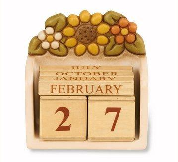 Calendario Avvento Thun.Thun Calendario Perpetuo Da Tavolo Country C1594h90 Ceramiche