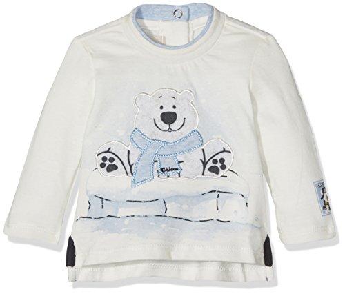 Chicco Baby-Jungen Pullunder 9006093, Weiß (Naturale), (Herstellergröße: 074)