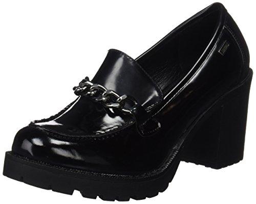 MTNG Tina 51157, Zapatos de Tacón Mujer, Negro (Mila Negro), 38 EU