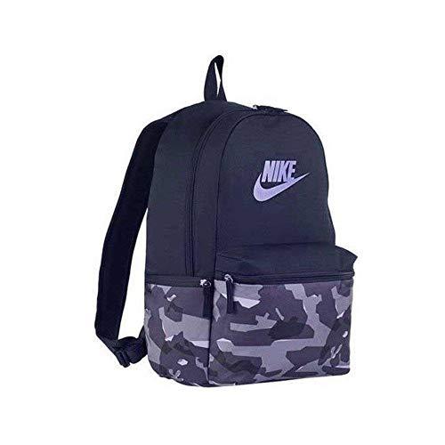 Nike Unisex-Erwachsene NK Heritage BKPK-AOP CAMO Rucksack, Mehrfarbig Recall/Blue Rec, 15x24x45 Centimeters