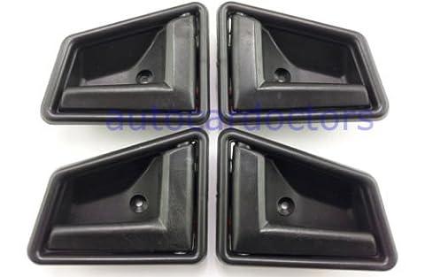 1989-1998 Suzuki Sidekick Black Interior Inside Door Handle Front Right