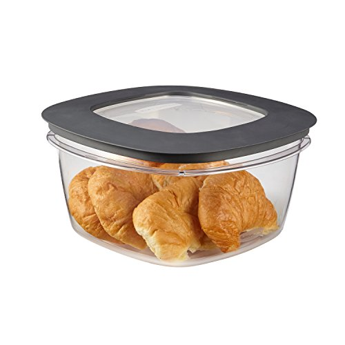 Rubbermaid Rubbermaid Premier Food Storage Container, 14 Cup, Grey, , Grey by Rubbermaid