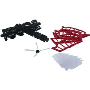 H.Koenig K22 Accessory Kit for SWR22 Robotic Vacuum Cleaner - Black / Red