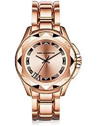 Karl Lagerfeld Damen KL1032 Rosa Stahl Uhr