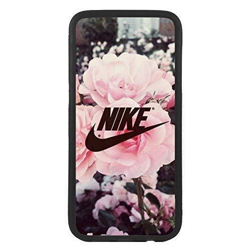 custom-cases Hülle Tasche TPU für alle die Mobile mit Design Nike Blumen Rosen Logo - Samsung J3 (2015 y 2016) - 2015 Nikes