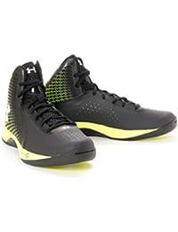 Under Armour - Zapatillas de baloncesto para hombre negro